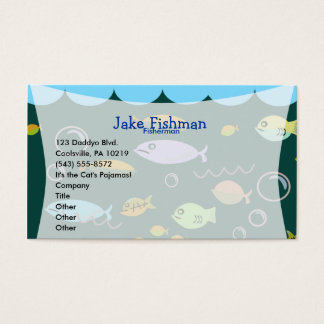 Something's Fishy! Business Card