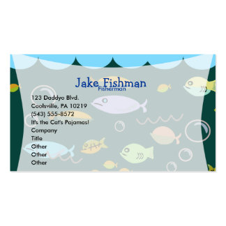 Something's Fishy! Double-Sided Standard Business Cards (Pack Of 100)