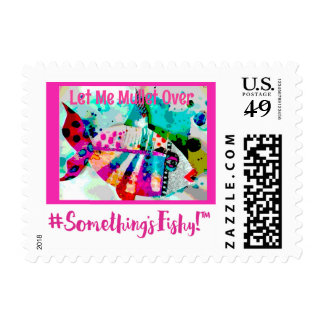 Something's Fishy Postage Stamp Collection