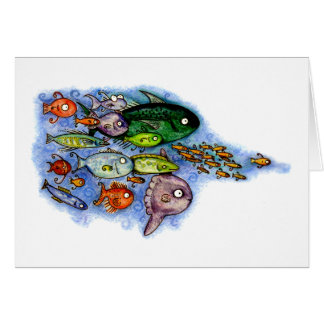 Something's Fishy Stationery Note Card