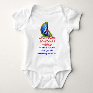 Something's Missing Baby Baby Bodysuit