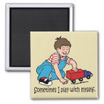 Sometimes... 2 Inch Square Magnet