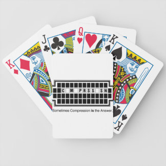 sometimes copy bicycle playing cards