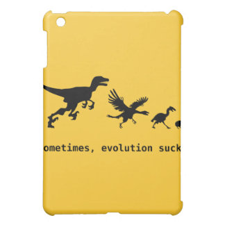 Sometimes, evolution sucks iPad mini cover