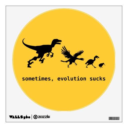 Sometimes, evolution sucks wall skins