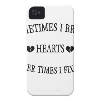 Sometimes I Break Hearts Other Time  I Fix Them Case-Mate iPhone 4 Case