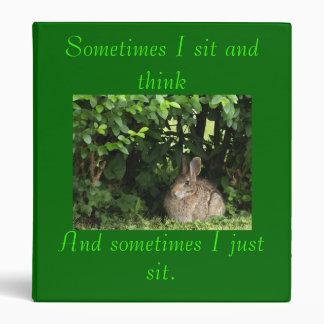 Sometimes I sit Binder