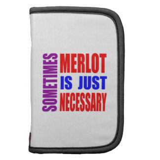 Sometimes Merlot is just necessary Planner