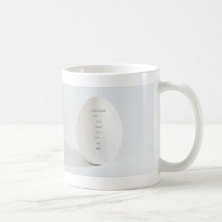 sometimes classic white coffee mug