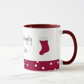 Sometimes Naughty Mostly NIce Mug
