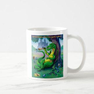 Sometimes the Dragon Wins Green Mug