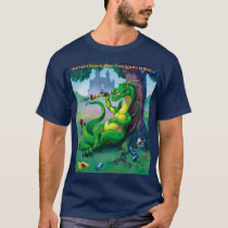 Sometimes the Dragon Wins Green T-Shirt