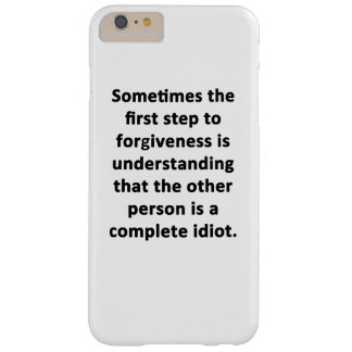 Sometimes the First Step Barely There iPhone 6 Plus Case