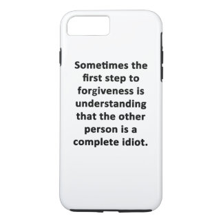 Sometimes the First Step iPhone 7 Plus Case