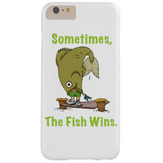 Sometimes The Fish Wins Barely There iPhone 6 Plus Case