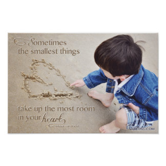 Sometimes the Smallest Things... Poster