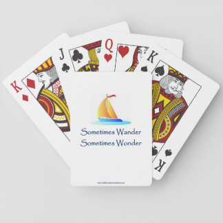 Sometimes Wander PLAYING CARDS
