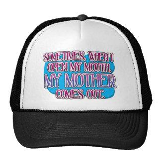 Sometimes, when I open my mouth... Trucker Hat