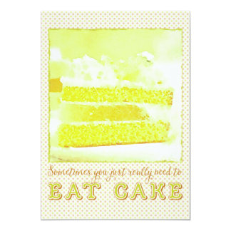 Sometimes You Just Really Need to Eat Melon Cake Card