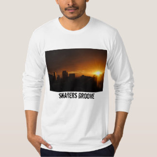 somewhere along the beautiful way. skaters grooVe. T-Shirt