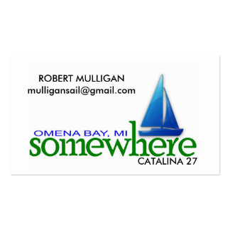 SOMEWHERE Card - ROBERT MULLIGAN Double-Sided Standard Business Cards (Pack Of 100)