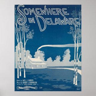 Somewhere In Delaware Print