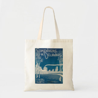 Somewhere In Delaware Tote Budget Tote Bag