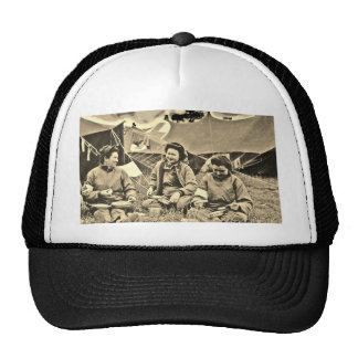 Somewhere in France Mesh Hats