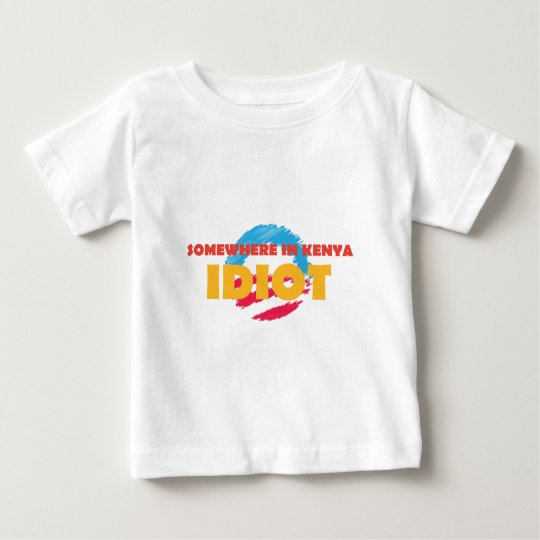 SOMEWHERE-IN-KENYA BABY T-Shirt