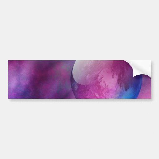 Somewhere in Outer Space Bumper Sticker