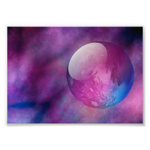 Somewhere in Outer Space Photo Print
