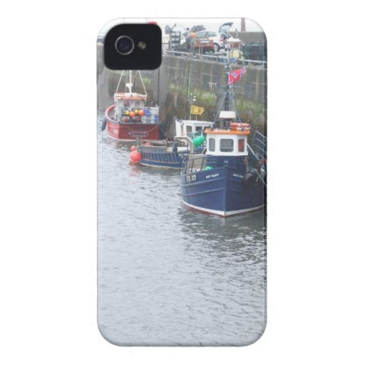 Somewhere in Scotland: Boats! Case-Mate iPhone 4 Cases