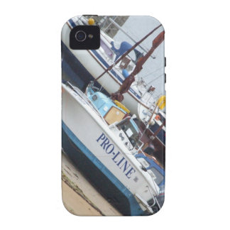Somewhere in Scotland: Boats! iPhone 4 Cover