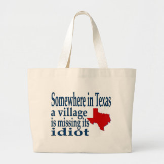 somewhere in texas tote bag