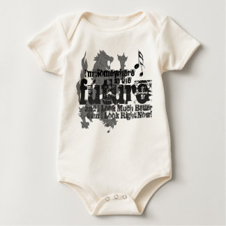 Somewhere In The Future BABY (with Lion) Baby Bodysuit