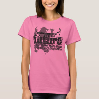 Somewhere In The Future Ladies Shirt (with Lion)