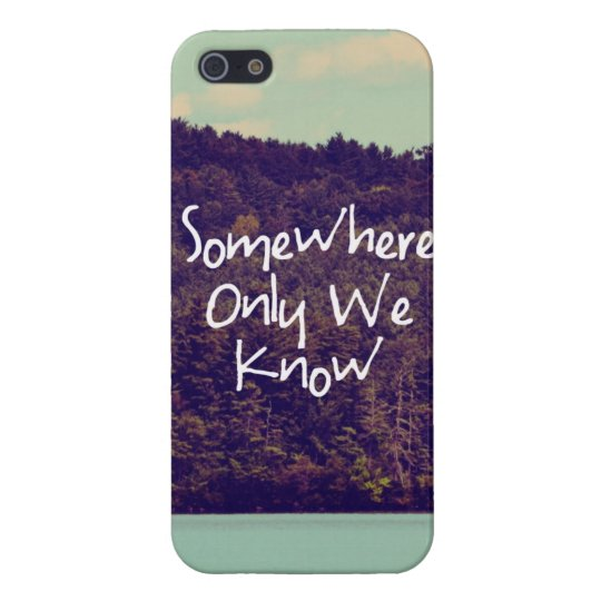 Somewhere iPhone 5 Case
