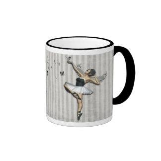 Somewhere Ringer Coffee Mug