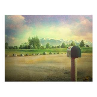 Somewhere New Zealand Postcard