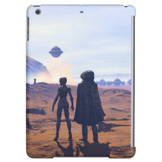 somewhere on mars VII iPad Air Cover