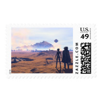 somewhere on mars  VII Postage