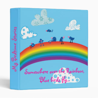 Somewhere over the rainbow binder