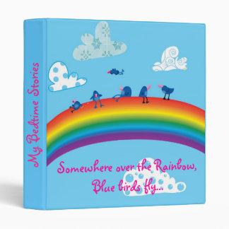 Somewhere over the rainbow binders