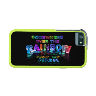 Somewhere Over the Rainbow iPhone 5 Cover