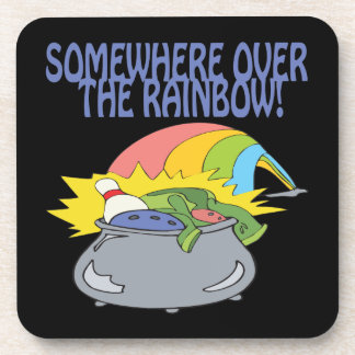 Somewhere Over The Rainbow Drink Coaster
