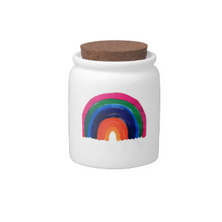 somewhere over the rainbow customise personalise candy jars