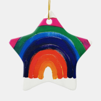 somewhere over the rainbow customise & personalise ceramic ornament