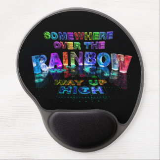 Somewhere Over the Rainbow Gel Mousepad