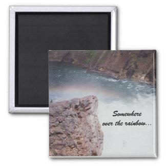 Somewhere over the rainbow...magnet refrigerator magnet