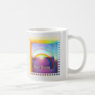 """Somewhere Over the Rainbow"" Mug"